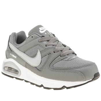 Nike Grey Air Max Command Boys Junior
