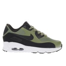Nike Black & Green Air Max 90 Ultra Boys Junior