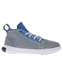 Converse Grey & Blue Easy Ride Mid Boys Junior