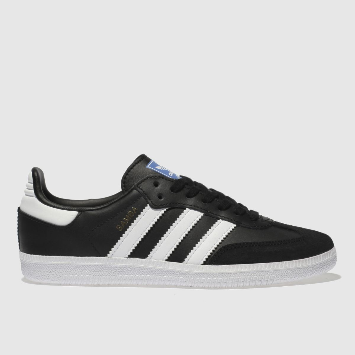 Adidas Black & White Samba Og Trainers Junior