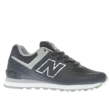 New Balance Dark Grey 574 Breathe Boys Junior