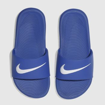 Nike Blue Kawa Slide Boys Junior