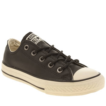 Boys Converse Black All Star Winter Warm Boys Junior