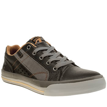 Skechers Black & Orange Diamondback Boys Junior