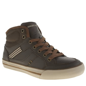 Skechers Brown Planfix Bowen Boys Junior