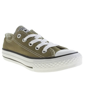 Boys Converse Khaki All Star Oxford Boys Junior