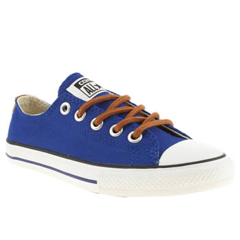 Boys Converse Blue All Star East Coaster Boys Junior