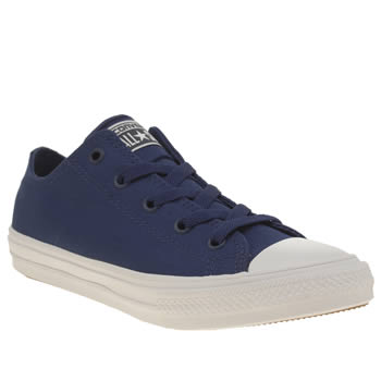 Converse Blue Chuck Taylor Ii Ox Boys Junior