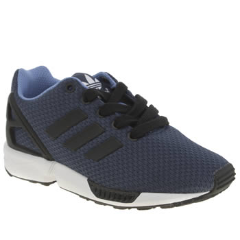 Boys Adidas Navy Zx Flux Boys Junior