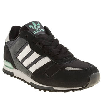 Boys Adidas Black & Grey Zx 700 Boys Junior