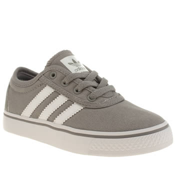 Adidas Grey Adiease Boys Junior