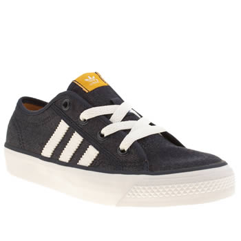 Boys Adidas Navy Nizza Lo Boys Junior