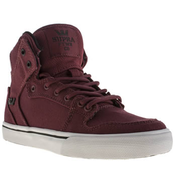 Supra Burgundy Vaider Boys Junior