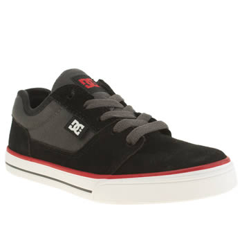 Dc Shoes Black & Grey Tonik Boys Junior