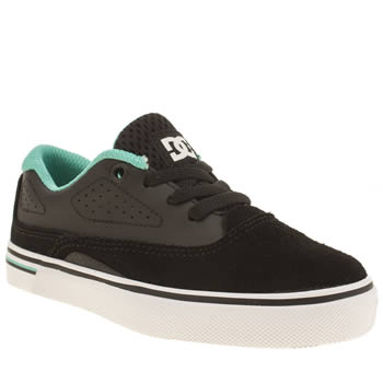 Dc Shoes Black and blue Sultan Boys Junior