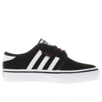 Adidas Black Seeley Boys Junior