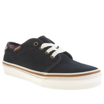 Boys Vans Navy 159 Vulc Boys Junior