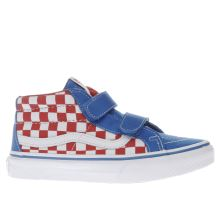 Vans Blue Sk8-mid Reissue V Boys Junior