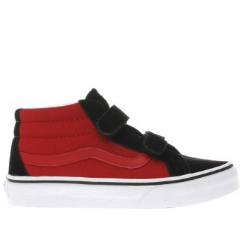 Vans Black Sk8-Mid Boys Junior
