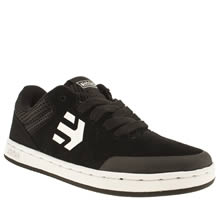 Junior Black & White Etnies Marana