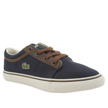 Lacoste Navy Vaultstar Boys Junior