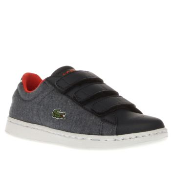 Lacoste Navy & Red Carnaby Evo 416 Boys Junior