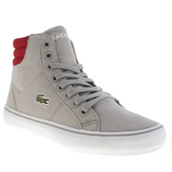 Lacoste Grey Marcel Mid Boys Junior