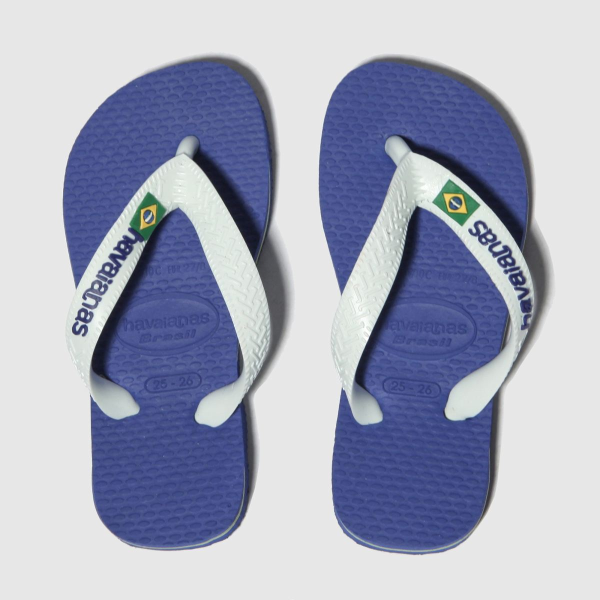 Havaianas Blue Brasil Logo Boys Junior Junior