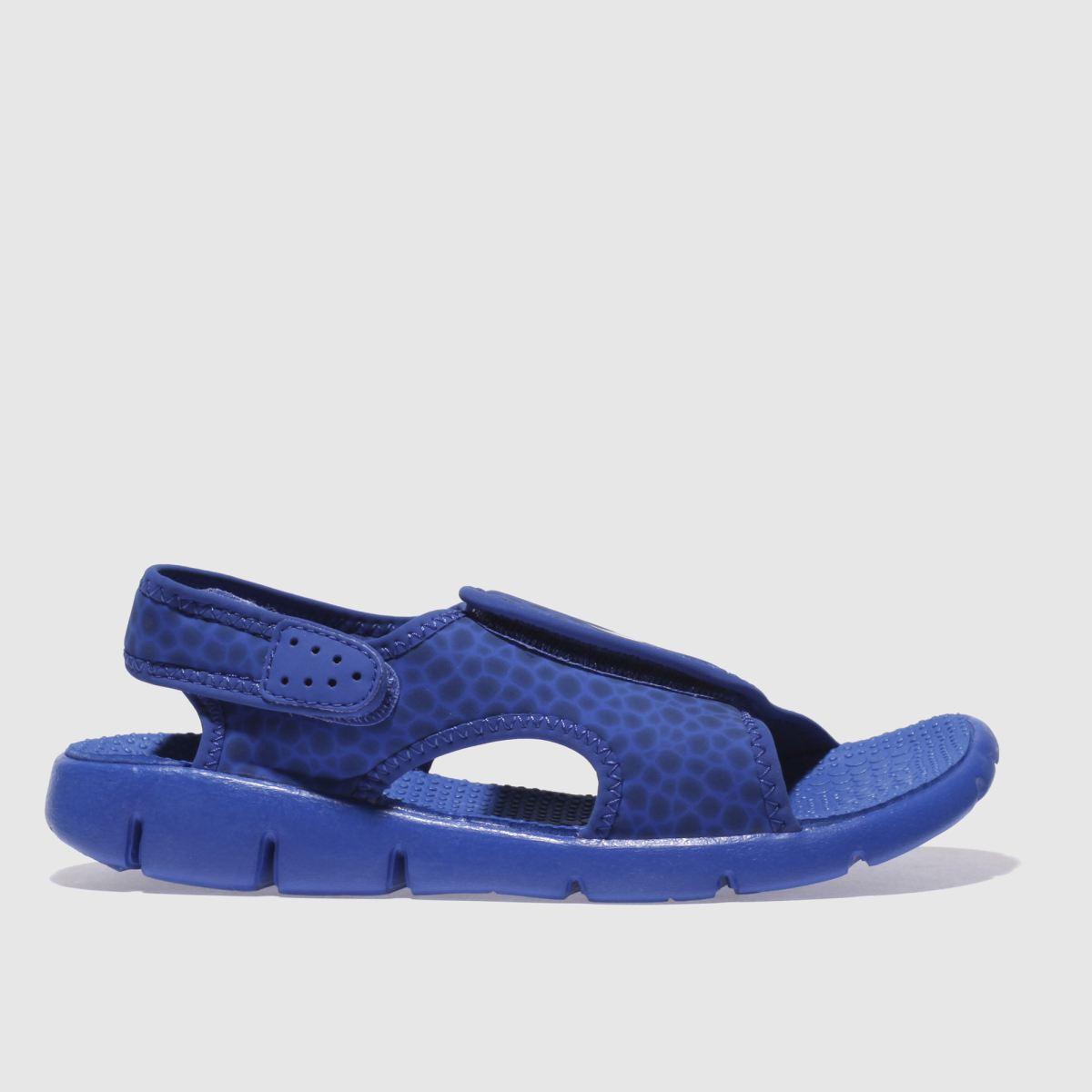 Nike Blue Sunray Adjust Boys Junior Sandals
