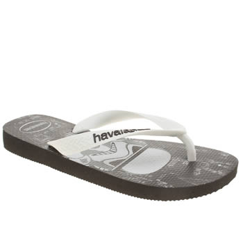 Havaianas Black & White Star Wars Boys Junior