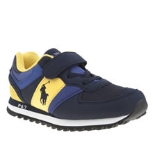 Polo Ralph Lauren Navy Slaton Boys Junior