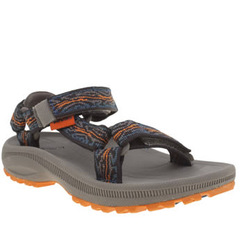 Teva Navy & Orange Hurricane 2 Boys Junior