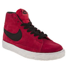 Junior Red Nike Blazer Mid Vintage