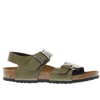 Birkenstock Khaki New York Boys Junior