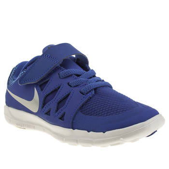 Boys Nike Blue Free 5-0 Boys Junior
