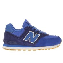New Balance Blue 574 Boys Junior
