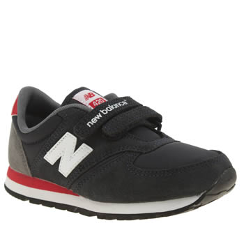 New Balance Navy & Red 420 Boys Junior