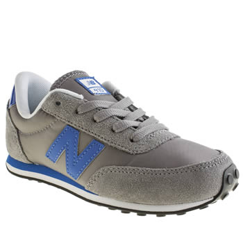 New Balance Grey 410 Boys Junior