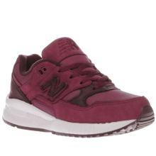 New Balance Burgundy 530 Boys Junior