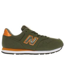New Balance Dark Green 373 Autumn Leaves Boys Junior
