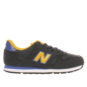 New Balance Navy 373 Autumn Leaves Boys Junior