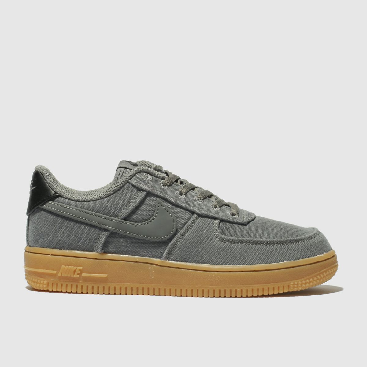 Nike Grey Air Force 1 Lv8 Style Trainers Junior