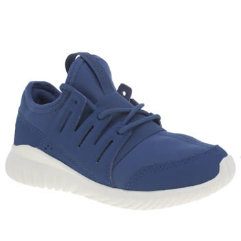 Adidas Blue Tubular Radial Boys Junior