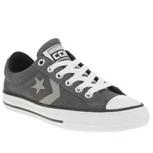 Converse Dark Grey Star Player 3v Boys Junior