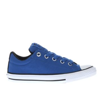 Converse Blue All Star Street Ox Boys Junior
