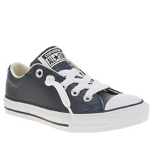 Converse Navy All Star Street Ox Boys Junior