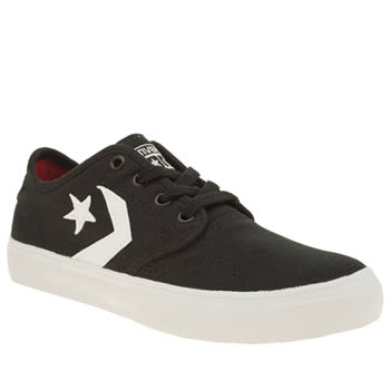 Converse Black & White Zakim Boys Junior