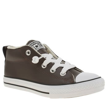 Converse Brown All Star Street Hi Boys Junior