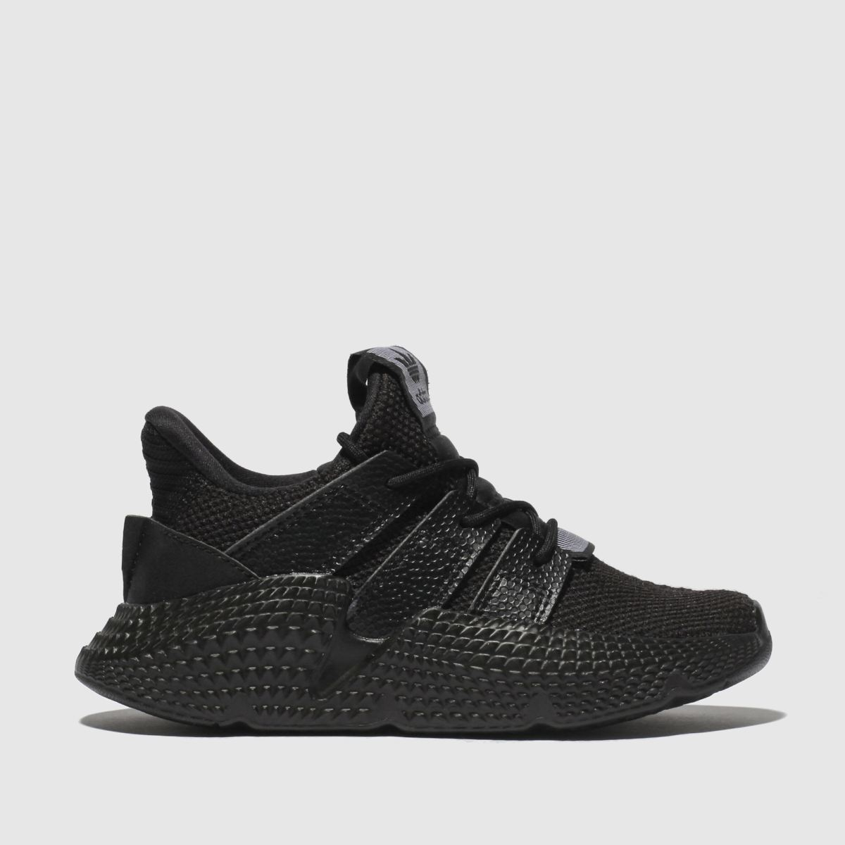 Adidas Black & White Prophere Trainers Junior