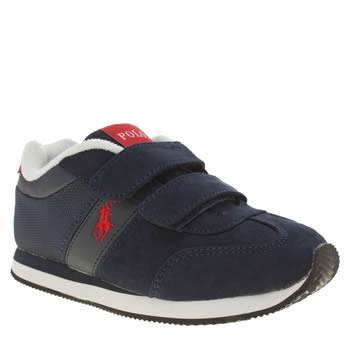 Polo Ralph Lauren Navy & Red Duma Ez Boys Junior